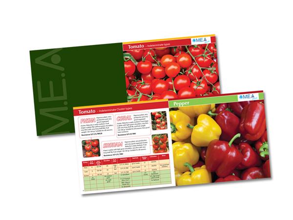 עיצוב והפקה של חוברת בתחום הזרעים